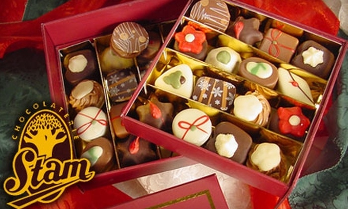 Chocolaterie Stam - Chapel Hill: $6 for $12 Worth of Treats at Chocolaterie Stam in Chapel Hill