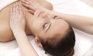 Glo Massage at LA Tan: One or Three 60-Minute Massages with Full-Body Scrub at Glo Massage at LA Tan (Up to 72% Off)