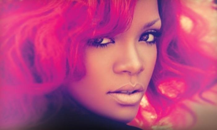 Rihanna at the Greensboro Coliseum Complex - Greensboro: Two Tickets to See Rihanna at the Greensboro Coliseum Complex on July 16 at 7:30 p.m. (Up to $104.90 Value)