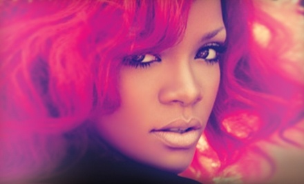 Live Nation: Rihanna at the Greensboro Coliseum Complex on Sat., July 16 at 7:30pm. Good for 2 Tickets in Sections 112119 or 121122 - Rihanna at the Greensboro Coliseum Complex in Greensboro