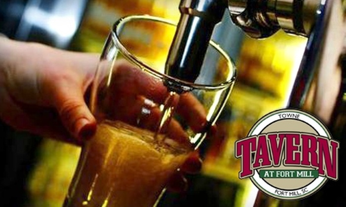 Towne Tavern at Fort Mill - Fort Mill: $8 for $16 Worth of Pub Fare at Towne Tavern At Fort Mill