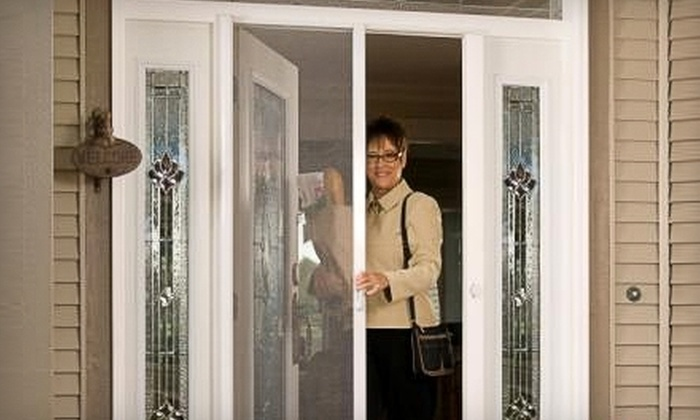 EJ's Home Improvements - Mission Viejo: $25 for $100 Toward the Purchase and Installation of a Retractable-Screen-Door System from EJ's Home Improvements