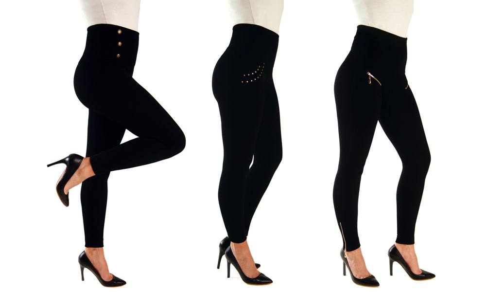 Three-Pack of Women's Slimming Leggings From £19.99