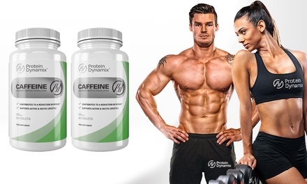 Caffeine Energy Tablets with B Vitamins for £9.98 (62% Off)