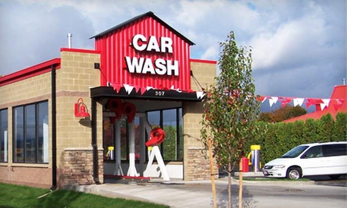 51 off at einstein s car wash einstein s car wash groupon