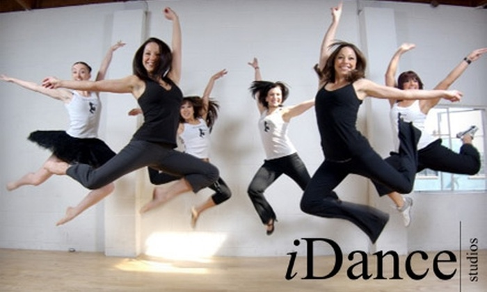 iDance Studios  - Multiple Locations: $39 for 30 Days of Unlimited Dance and Boot Camp Classes at iDance Studios ($200 Value)
