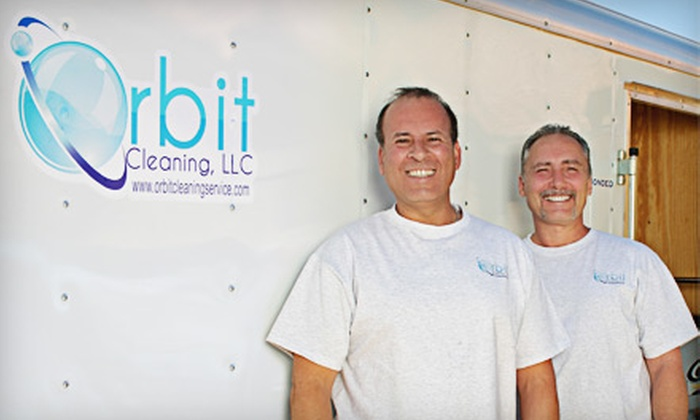 Orbit Cleaning - Mesa: $59 for Carpet Cleaning in Three Rooms from Orbit Cleaning ($125 Value)