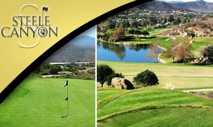 Steele Canyon Golf Club - Jamul: $89 for 18 Holes of Golf for Two Plus a Cart at Steele Canyon Golf Club (Up to $178 Value for County Residents)