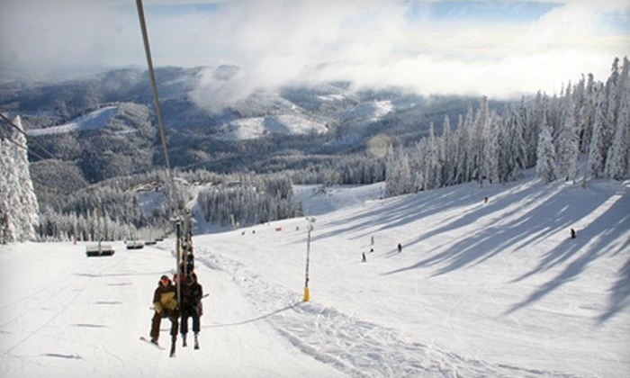 Mt. Spokane Ski & Snowboard Park - Mount Spokane: Lesson, Rental, and Lift Ticket at Mt. Spokane Ski & Snowboard Park in Mead (51% Off). Two Options Available.
