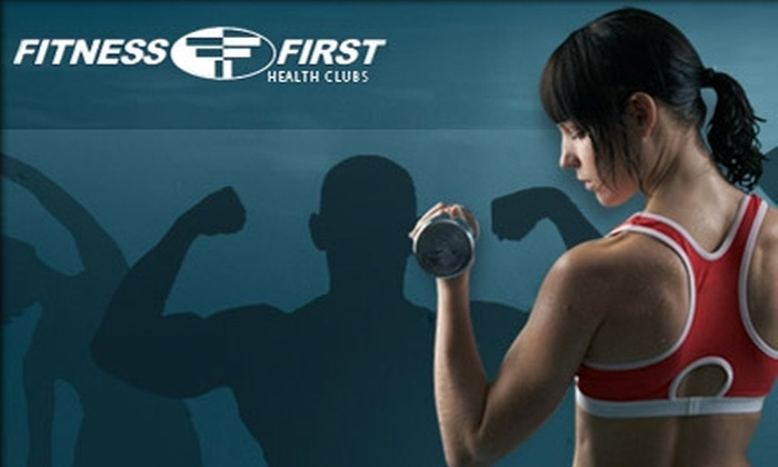 Fitness First Health Club - Washington DC: $20 for a 30-Day Membership and Fitness Assessment at Fitness First Health Clubs ($175 Value)