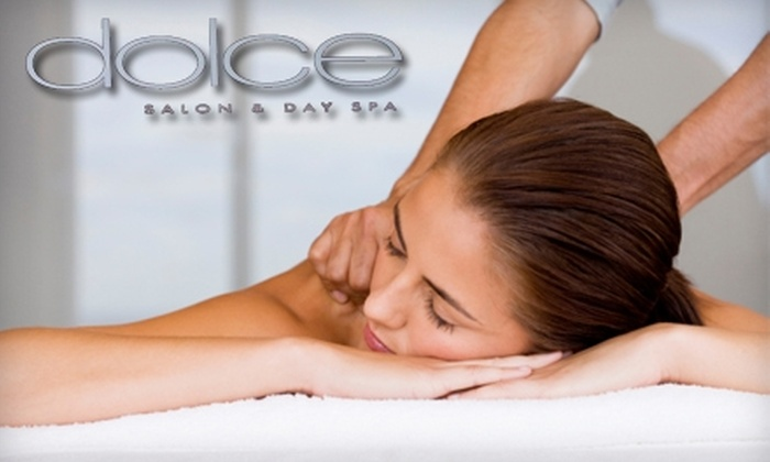 Dolce Salon and Day Spa - Reno: $45 for One-Hour Facial ($100 Value) or $40 for One-Hour Signature or Deep-Tissue Massage (Up to $80 Value) at Dolce Salon and Day Spa