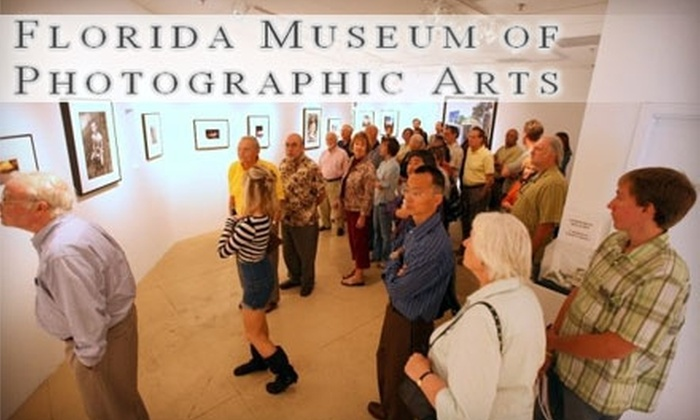 Florida Museum of Photographic Arts - Downtown: One-Year Membership to the Florida Museum of Photographic Arts. Choose Between Two Membership Levels.
