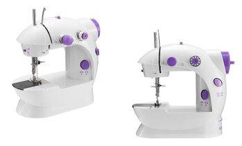 iMounTEK Portable 2-Speed Mini Electric Sewing Machine with Foot Pedal
