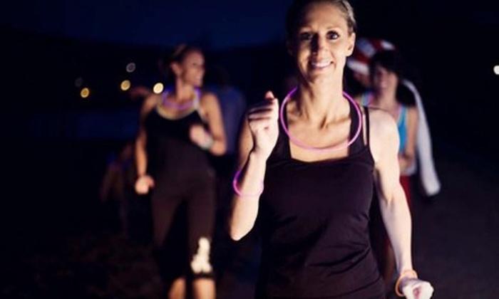 Go Tri - Eagle Mountain: Registration for Eagle Mountain Glow in the Dark 5K Race or Half Marathon from Go Tri (Half Off)