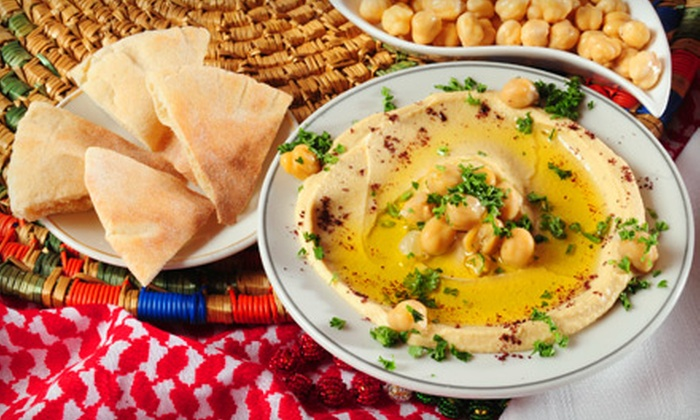 Mediterranean Grill - Wichita: $10 for $20 Worth of Hummus, Falafel, Pasta, and Entrees at Mediterranean Grill
