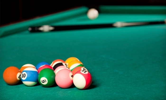 Pool Time Billiards - Midland Park: $7 for Two-Hour Pool Table Rental ($14 Value) or $40 for Private Pool Lesson ($80 Value) at Pool Time Billiards in Midland Park