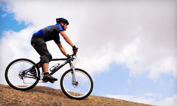 Bikes Plus - Multiple Locations: Flat-Tire Repair, Bike Tune-Up, or Parts and Accessories at Bikes Plus (Up to 64% Off)