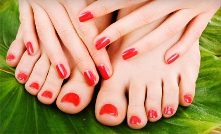 Let It Shine Hair Designs: Manicure and Pedicure - Let It Shine Hair Designs in Aptos