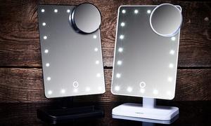 (Beauté)  Miroir LED grossissant -76% réduction
