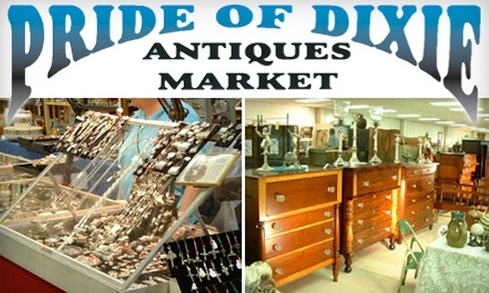 Pride of Dixie Antiques Market - Lilburn: $4 for Two Tickets to Pride of Dixie Antiques Market at The North Atlanta Trade Center ($8 Value)