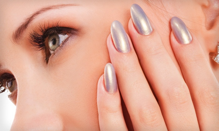 Wet Paint Nail Spa - Neighborhood Nine: $35 for a Mani-Pedi at Wet Paint Nail Spa in Cambridge ($70 Value)