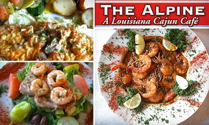 The Alpine Bistro - French Quarter: $25 for $50 Worth of Cajun and Creole Fare and Drinks at The Alpine Bistro