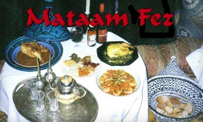 Mataam Fez - Park Hill: $20 for $40 Worth of Moroccan Fare at Mataam Fez