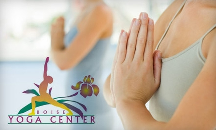 Boise Yoga Center - Multiple Locations: $40 for 5 Drop-In Classes ($80 Value) or $48 Dollars for an 8-Week Beginner Program at Boise Yoga Center (Up to $96 Value)