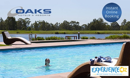 Hunter Valley: Up to 7-Night Villa Stay for Up to Six People with Option for Breakfast at Oaks Cypress Lakes Resort