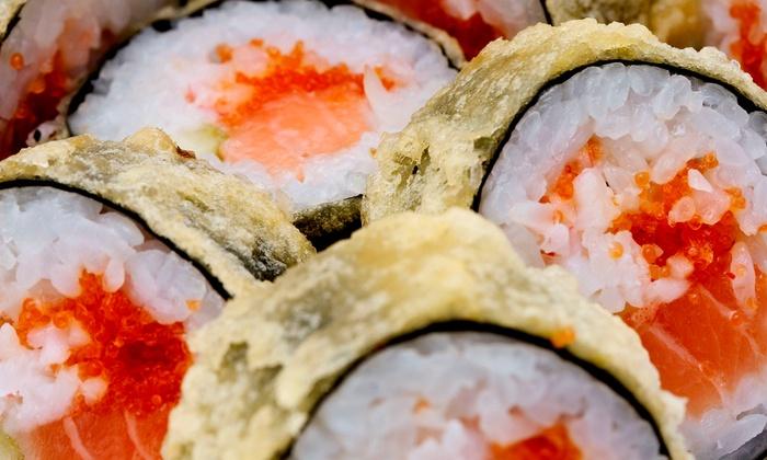 Bonsai Japanese Restaurant & Sushi Bar - Greensboro: $12 for $20 Worth of Sushi and Hibachi-Style Cuisine at Bonsai Japanese Restaurant & Sushi Bar