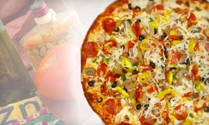 The Pizza Stop - C.H.A.I.N.: $7 for $15 Worth of Pizza-Parlor Fare at The Pizza Stop