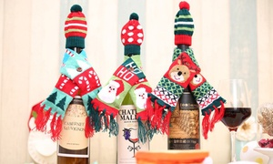 Couvre-bouteille Noël