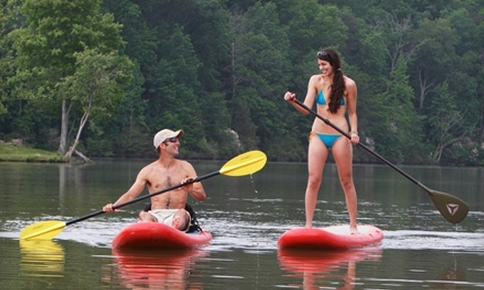 Stride Stand Up Paddleboards - Multiple Locations: $49 for a Two-Hour Kayak and Paddleboard Adventure Course from Stride Stand Up Paddleboards ($99 Value)
