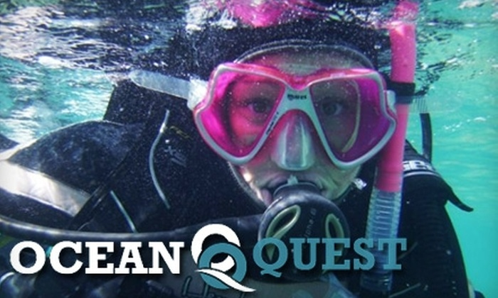 Ocean Quest Adventure Resort - Conception Bay South: $30 for a Scuba Discovery Lesson at Ocean Quest Adventure Resort