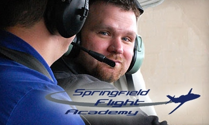 Springfield Flight Academy - Urbana: $49 for a Half-Hour Introductory Flight Lesson at Springfield Flight Academy ($99 Value)