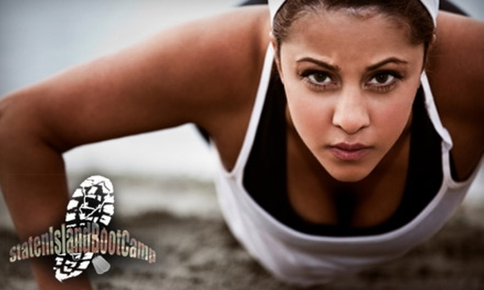 Staten Island Boot Camp - Multiple Locations: $45 for Six Classes at Staten Island Boot Camp ($95 Value)