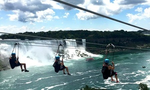 20% Off MistRider Zipline to the Falls at WildPlay Niagara Falls at WildPlay Niagara Falls, plus 6.0% Cash Back from Ebates.