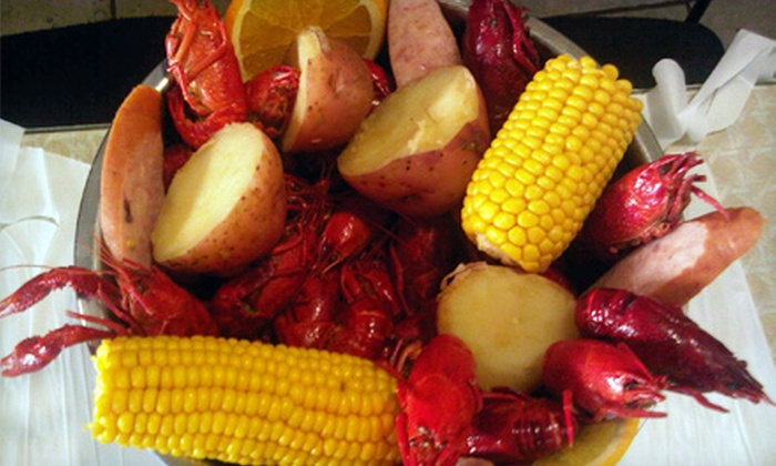 Brother's Crawfish - Dorchester: $19 for a Cajun Dinner for Two or Four at Brother's Crawfish in Dorchester (Up to $42.38 Value)