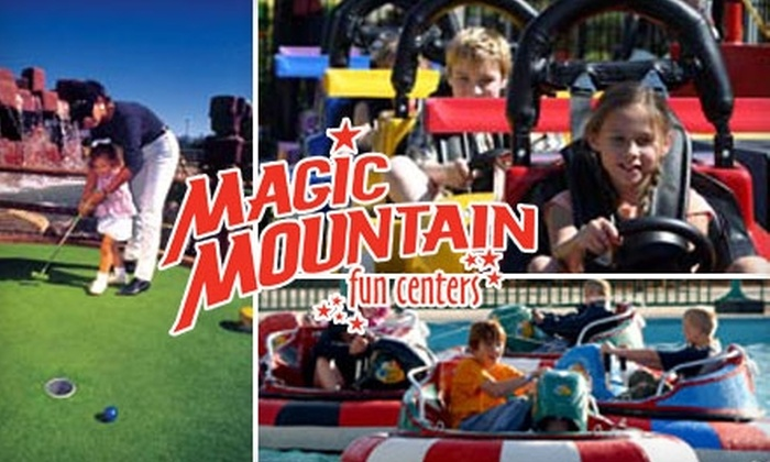 Magic Mountain Fun Centers - Multiple Locations: $15 for a Five-Attraction Pass to Magic Mountain Fun Centers