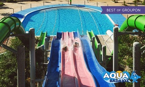 Aqua Badajoz:  Entrada al parque acuático Aqua Badajoz para 1, 2, 4, 6 u 8 personas desde 14 €