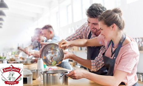 Curso de cocina a elegir para 1 o 2 personas desde 19,95 € en Gran Cucina