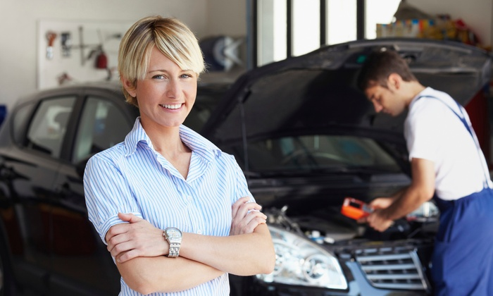 Cobblestone Auto Spa - Multiple Locations: Oil Change with Basic Full-Service Washes at Cobblestone Auto Spa (Up to 56% Off). Three Options Available.