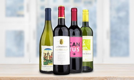 $24.99 for $75 Worth of Wine from Wine Insiders