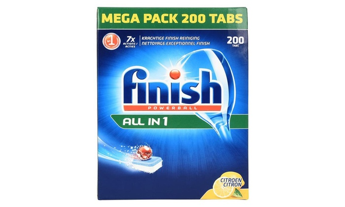 200 or 400 Finish Powerbal Tablets from £19.99