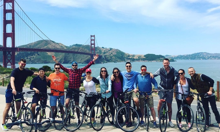Golden Gate Rides - Golden Gate Rides: Bike Rental for One or Two from Golden Gate Rides (56% Off)