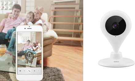 $39.95 for a 360° Home Security WiFi Wireless Smart HD Camera with TwoWay Audio, Night Vision & Motion Detection Alert