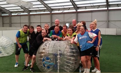 Bubble Football Experience for Up to 16 at Bubble Soccer Scotland, Five Locations (Up to 53% Off)