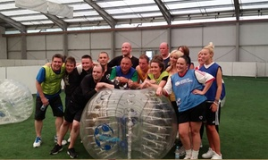 Bubble Soccer Scotland: Bubble Football Experience for Up to 16 at Bubble Soccer Scotland, Five Locations (Up to 53% Off)