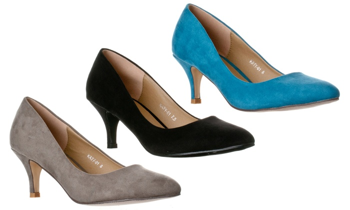7f82157f14a Up To 28% Off on Riverberry Women's Katy Pumps | Groupon Goods