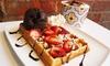 Up to 52% Off Waffles, Waffle Bites, and Gelato at La Vizziata